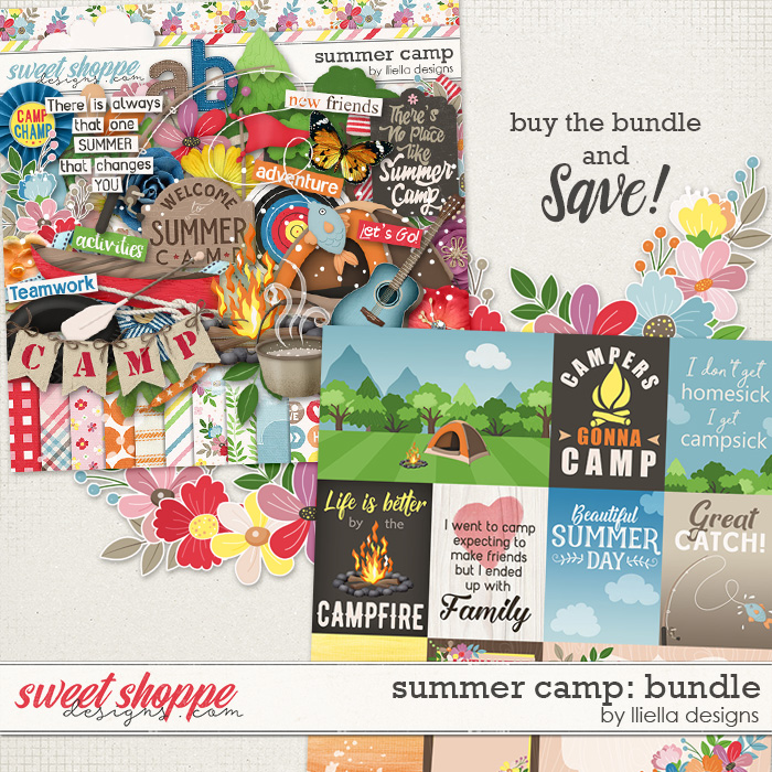 Summer Camp: Bundle by lliella designs