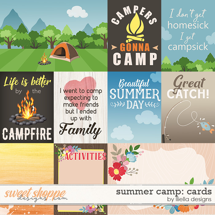 Summer Camp: Cards by lliella designs