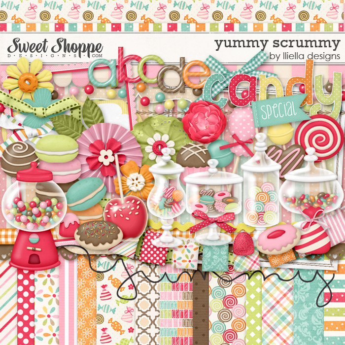 Yummy Scrummy by lliella designs