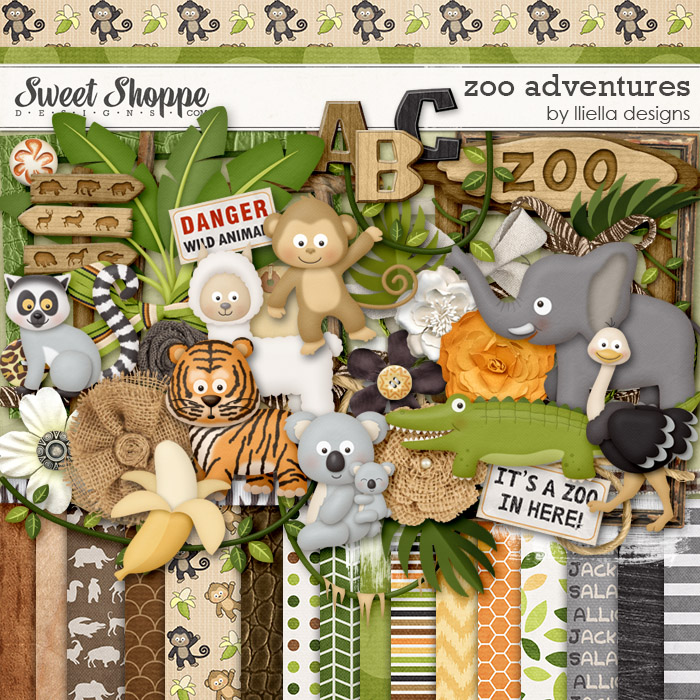 Zoo Adventures by lliella designs