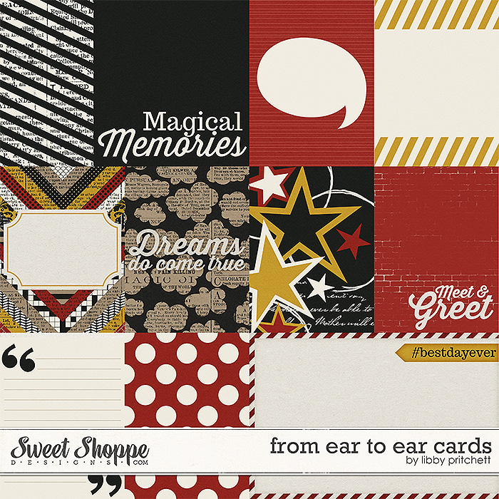 From Ear to Ear Cards by Libby Pritchett