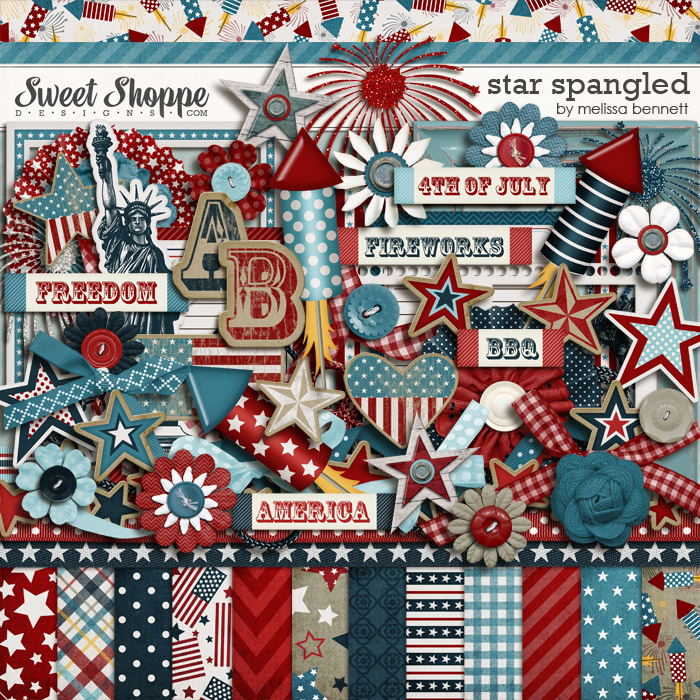 Star Spangled by Melissa Bennett