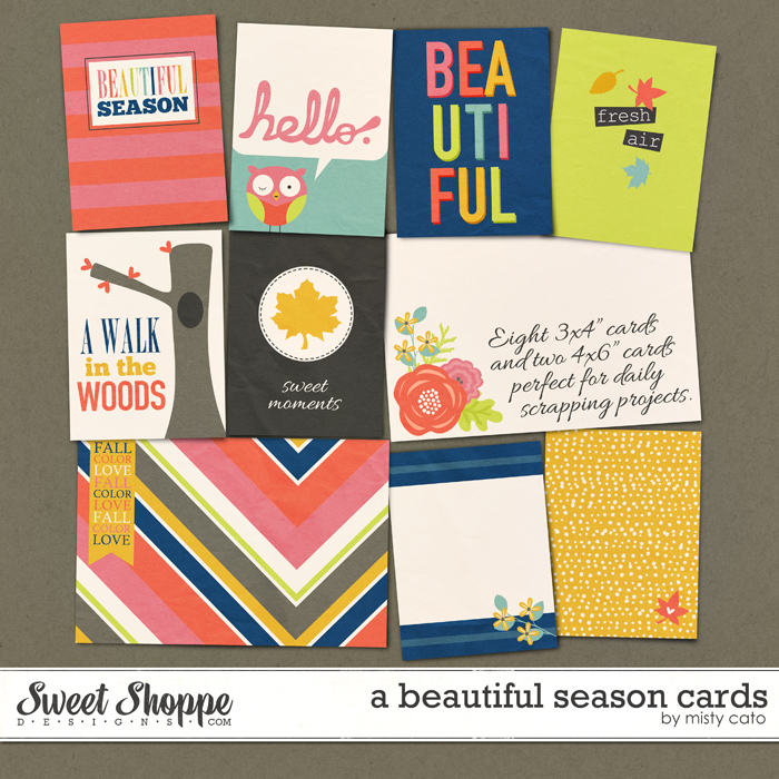 A Beautiful Season Cards by Misty Cato