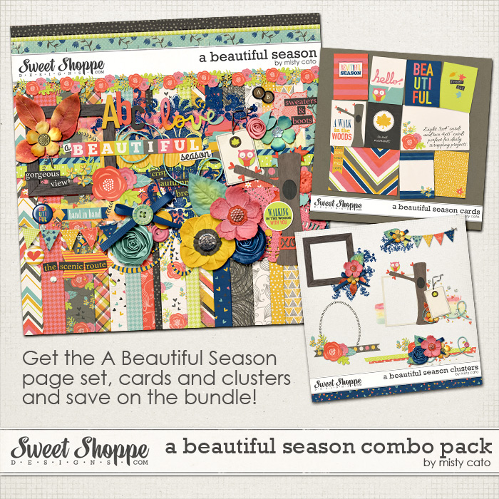 A Beautiful Season Combo Pack by Misty Cato