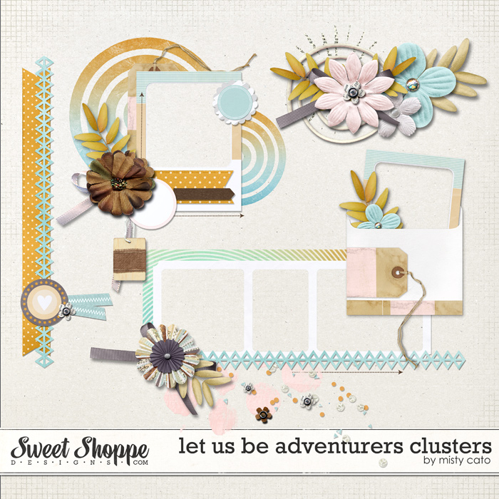 Let Us Be Adventurers Clusters by Misty Cato