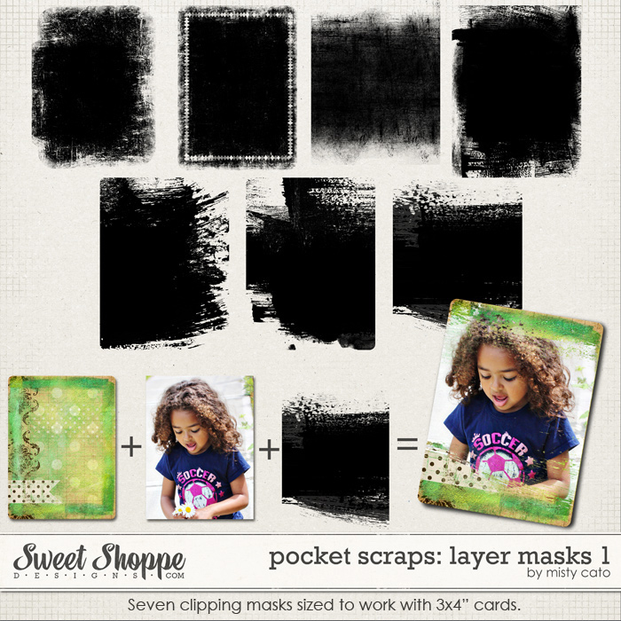 Pocket Scraps: Layer Masks by Misty Cato