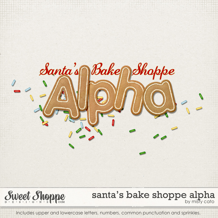 Santa's Bake Shoppe Alpha by Misty Cato
