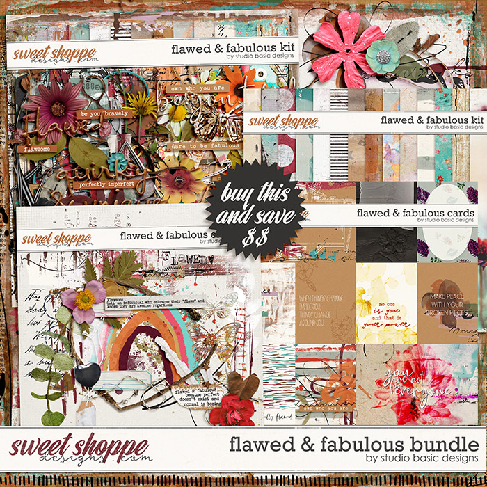 Flawed & Fabulous Bundle by Studio Basic