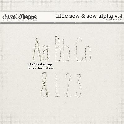 Little Sew & Sew Alpha v.4 by Erica Zane