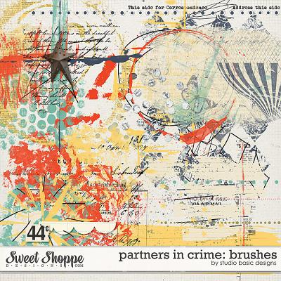 Partners In Crime: Brushes by Studio Basic