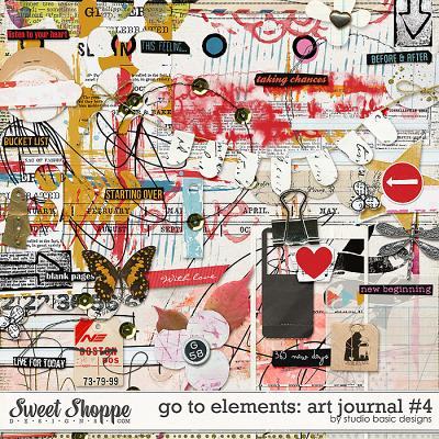 Go To Elements: Art Journal #4 by Studio Basic