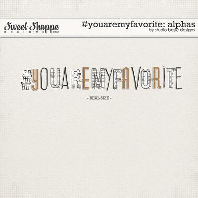 #youaremyfavorite Alphas by Studio Basic
