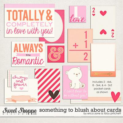 Something to Blush About Cards by Libby Pritchett & Erica Zane