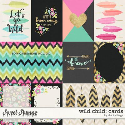 Wild Child: CARDS by Studio Flergs