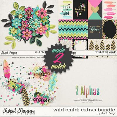 Wild Child: EXTRAS BUNDLE by Studio Flergs
