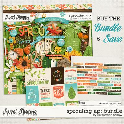 Sprouting Up: Bundle by Kristin Cronin-Barrow