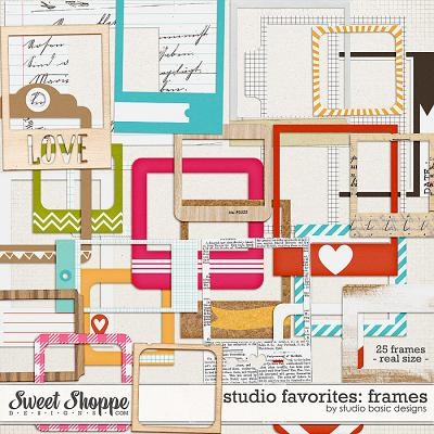 Studio Favorites: Frames by Studio Basic