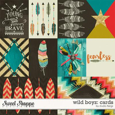 Wild Boyz: CARDS by Studio Flergs