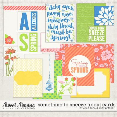 Something to Sneeze About Cards by Libby Pritchett & Erica Zane