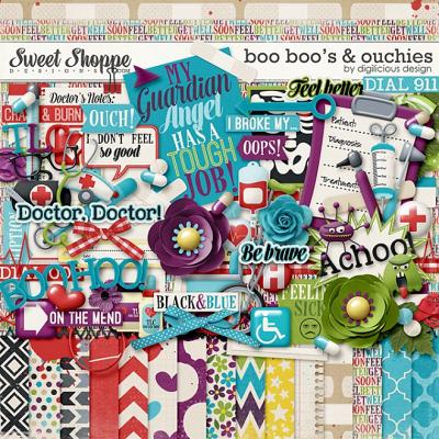 Boo Boo's & Ouchies Kit by Digilicious Design