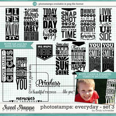 Cindy's Photostamps - Everyday Set 3 by Cindy Schneider