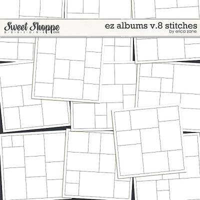 EZ Albums v.8 Stitches by Erica Zane