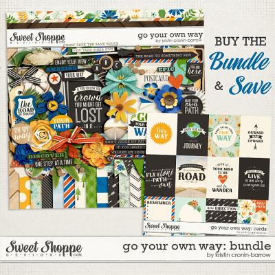 Go Your Own Way: Bundle by Kristin Cronin-Barrow