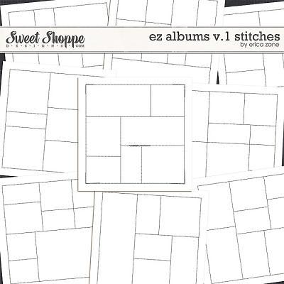 EZ Albums v.1 Stitches by Erica Zane
