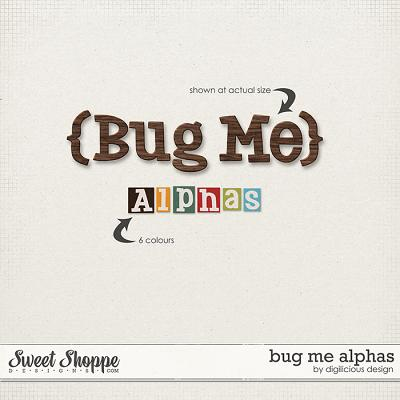 Bug Me Alphas by Digilicious Design