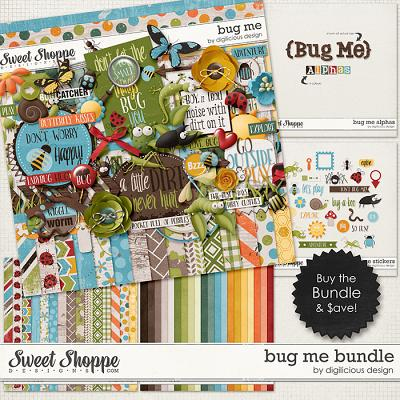 Bug Me Bundle by Digilicious Design