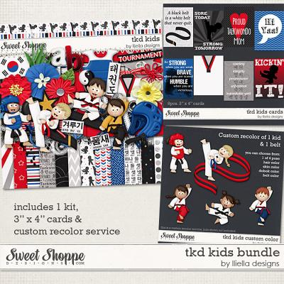 TKD Kids Bundle by lliella designs