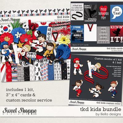 TKD Kids Bundle by lliella designs