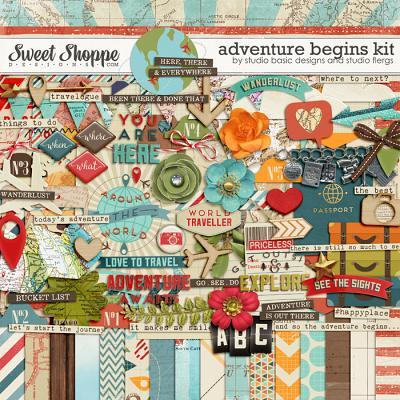 Adventure Begins by Studio Basic Designs & Studio Flergs