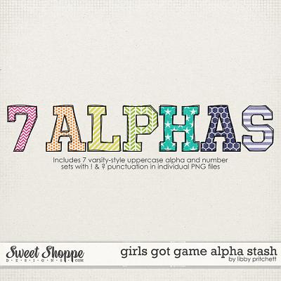 Girls Got Game Alpha Stash by Libby Pritchett