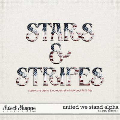 United We Stand Alpha by Libby Pritchett