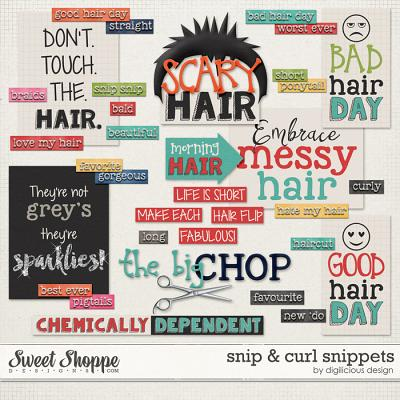 Snip & Curl Snippets by Digilicious Design