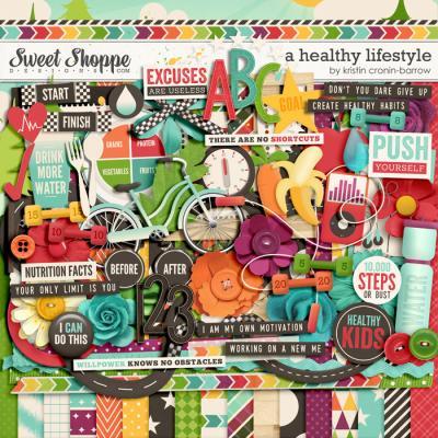 A Healthy Lifestyle by Kristin Cronin-Barrow