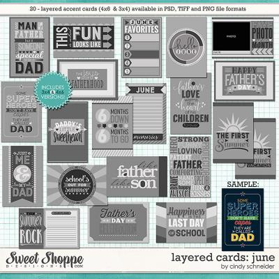 Cindy's Layered Cards: June Edition by Cindy Schneider
