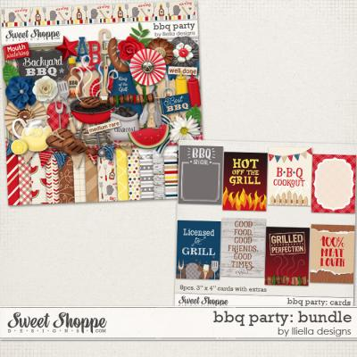 BBQ Party: Bundle by lliella designs