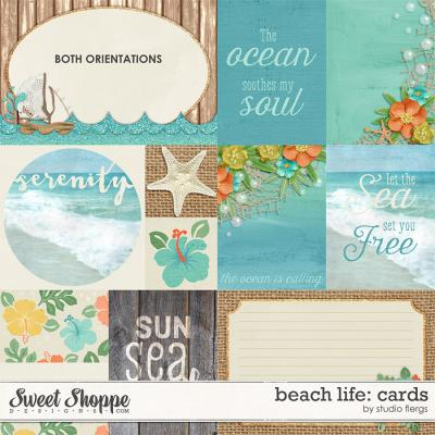 Beach Life: CARDS by Studio Flergs