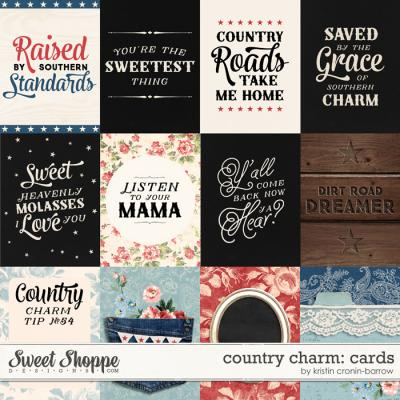 Country Charm: Card by Kristin Cronin-Barrow