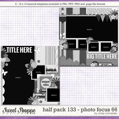 Cindy's Layered Templates - Half Pack 133: Photo Focus 66 by Cindy Schneider