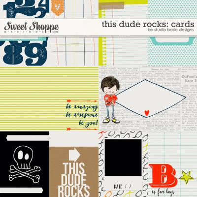 This Dude Rocks: Cards by Studio Basic