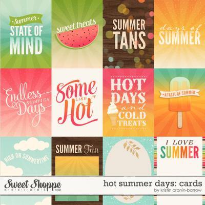 Hot Summer Days: Cards by Kristin Cronin-Barrow