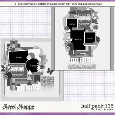 Cindy's Layered Templates - Half Pack 136 by Cindy Schneider