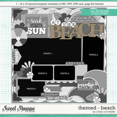 Cindy's Layered Templates - Themed: Beach by Cindy Schneider