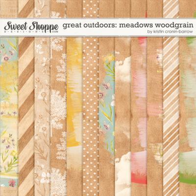 Great Outdoors: Meadows Woodgrain by Kristin Cronin-Barrow