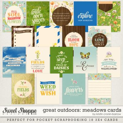 Great Outdoors: Meadows Cards by Kristin Cronin-Barrow