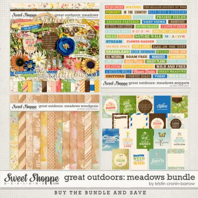 Great Outdoors: Meadows Bundle by Kristin Cronin-Barrow