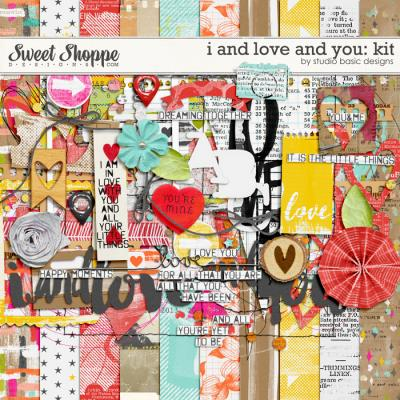 I And Love And You: Kit by Studio Basic
